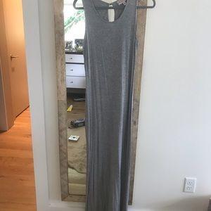 Philosophy gray maxi dress size small